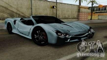 Mitsuoka Orochi Nude Top Roadster для GTA San Andreas