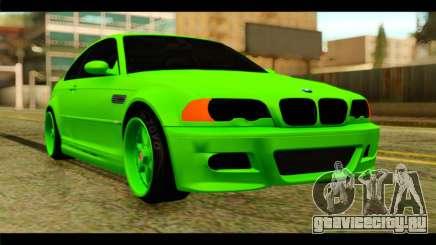 BMW M3 E46 Stock для GTA San Andreas
