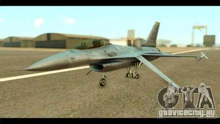 Lockheed Martin F-16C Fighting Falcon Warwolf для GTA San Andreas