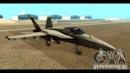 FA-18 Jolly Roger Black для GTA San Andreas
