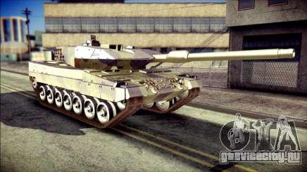 Leopard 2A6 для GTA San Andreas