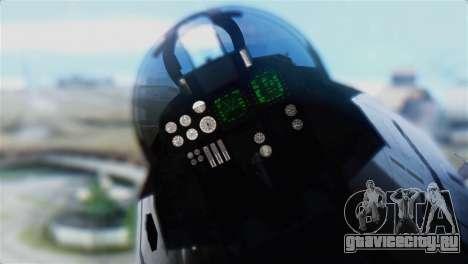 F-14D Super Tomcat Polish Navy для GTA San Andreas вид сзади