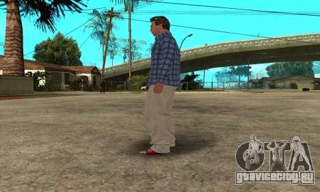 Skin Claude [HD] для GTA San Andreas восьмой скриншот