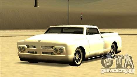 Slamvan Final для GTA San Andreas вид сверху