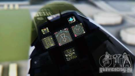 F-15DJ (E) JASDF Aggressor 32-8081 для GTA San Andreas вид справа