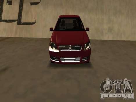 Suzuki Fun 2009 для GTA San Andreas вид слева
