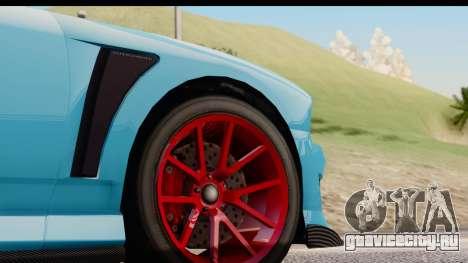 GTA 5 Bravado Buffalo S Sprunk для GTA San Andreas вид изнутри