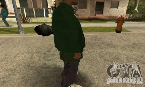 Groove St. Nigga Skin First для GTA San Andreas пятый скриншот