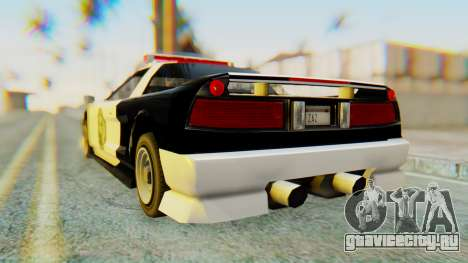 Infernus Interceptor для GTA San Andreas вид слева