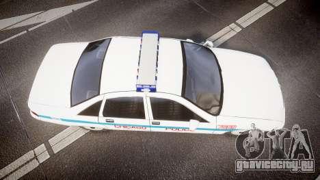 Chevrolet Caprice Chicago Police [ELS] для GTA 4 вид справа