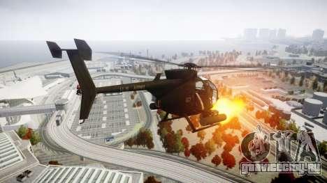 AH-6 Little Bird для GTA 4 вид слева