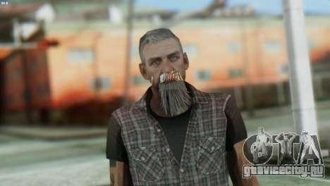 Biker Skin from GTA 5 для GTA San Andreas третий скриншот