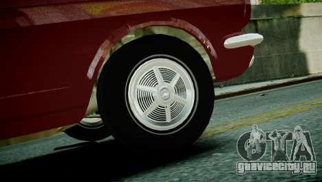 Ford Mustang 1965 для GTA 4 вид сзади слева