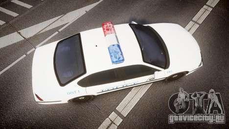 Chevrolet Impala Metropolitan Police [ELS] Pat для GTA 4 вид справа