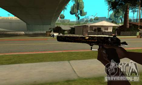 Leopard Deagle для GTA San Andreas второй скриншот
