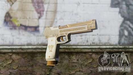 Desert Eagle Skin from GTA 5 для GTA San Andreas