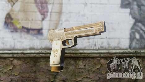 Desert Eagle Skin from GTA 5 для GTA San Andreas