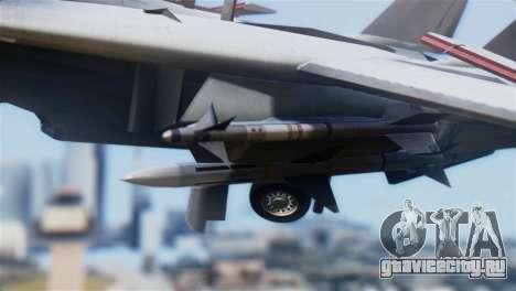 F-14A Tomcat VF-21 Freelancers для GTA San Andreas вид справа