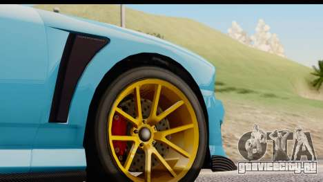 GTA 5 Bravado Buffalo S Sprunk для GTA San Andreas вид сбоку