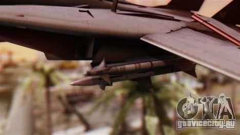 F-14A Tomcat IRIAF для GTA San Andreas вид справа