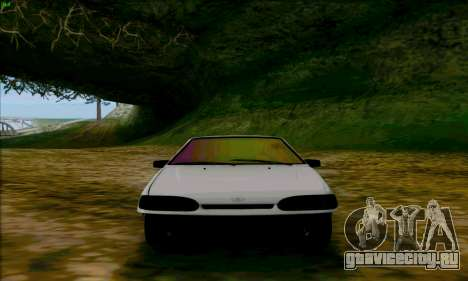 ВАЗ 2114 Аля Дубай для GTA San Andreas вид сзади