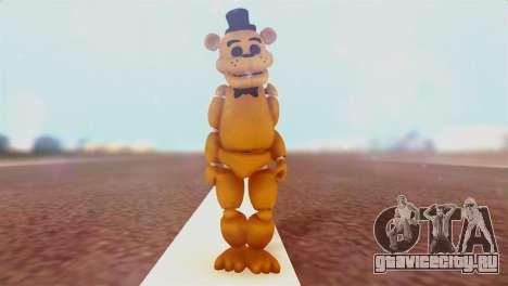 Golden Freddy v2 для GTA San Andreas второй скриншот