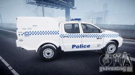 Toyota Hilux NSWPF [ELS] для GTA 4 вид слева