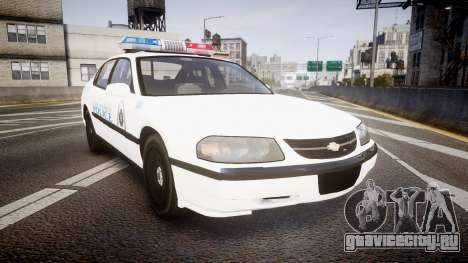 Chevrolet Impala Metropolitan Police [ELS] Traf для GTA 4