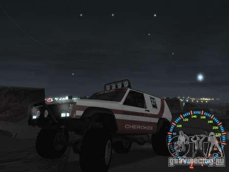 Простой спидометр для GTA San Andreas восьмой скриншот