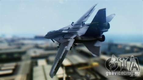 F-14D Super Tomcat Halloween Pumpkin для GTA San Andreas вид слева