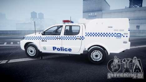 Toyota Hilux NSWPF [ELS] scoop для GTA 4 вид слева