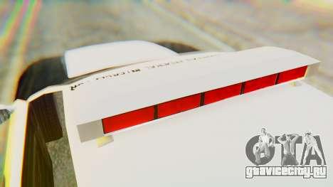Infernus Interceptor для GTA San Andreas вид справа