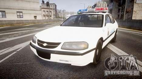 Chevrolet Impala Metropolitan Police [ELS] Pat для GTA 4
