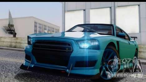 GTA 5 Bravado Buffalo S Sprunk для GTA San Andreas вид сзади слева