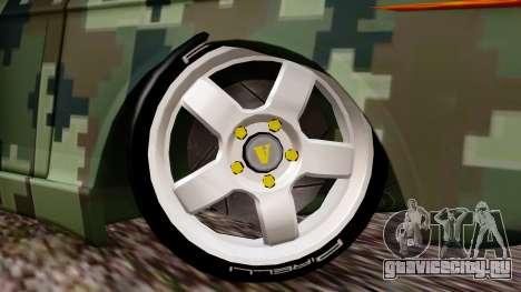 Peykan Javanan Drift для GTA San Andreas вид сзади слева
