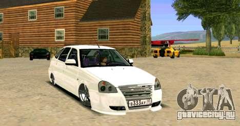 ВАЗ 2172 Тюнинг для GTA San Andreas