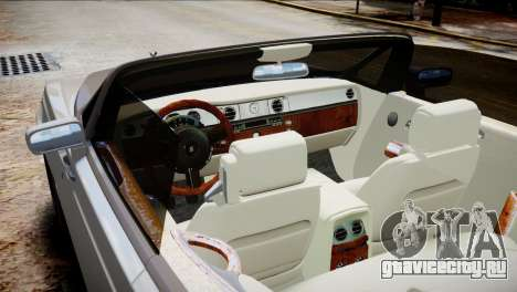 Rolls-Royce Phantom Coupe 2009 для GTA 4 вид справа