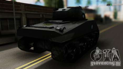 M4 Sherman Gawai Special для GTA San Andreas вид слева