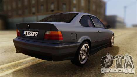 BMW 320i для GTA San Andreas вид слева