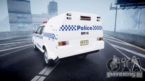 Toyota Hilux NSWPF [ELS] для GTA 4 вид сзади слева