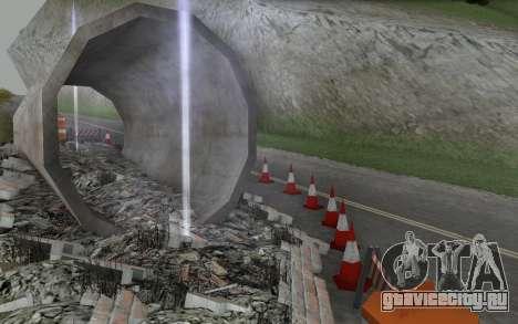 Ремонт дороги для GTA San Andreas шестой скриншот