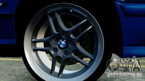 BMW M5 E34 Gradient для GTA San Andreas вид сзади слева