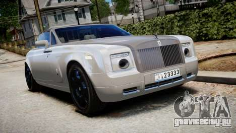 Rolls-Royce Phantom Coupe 2009 для GTA 4