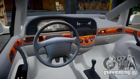 Daewoo Tacuma 2001 для GTA 4 вид сзади