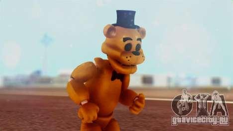 Golden Freddy v2 для GTA San Andreas