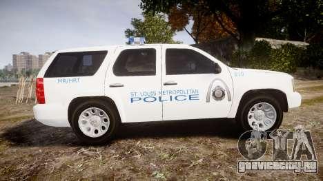 Chevrolet Tahoe Metropolitan Police [ELS] для GTA 4 вид слева