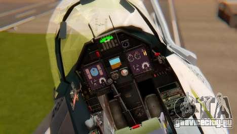 Embraer A-1 AMX FAB для GTA San Andreas вид сзади