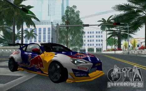 Toyota GT86 Red Bull для GTA San Andreas