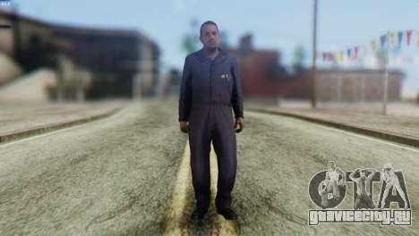 Uborshik Skin from GTA 5 для GTA San Andreas