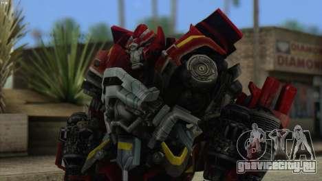 Ironhide Skin from Transformers v1 для GTA San Andreas